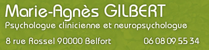 Marie Agnès Gilbert, psychologue à Belfort